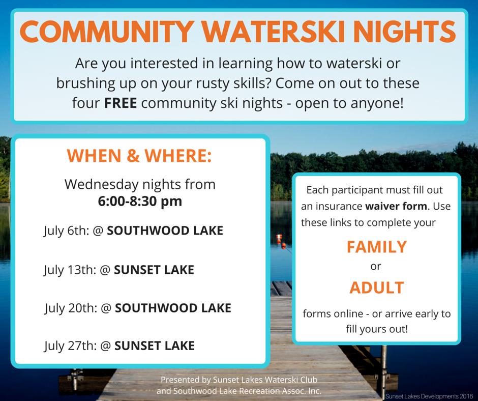 SLD- Community Waterski Nights Flyer