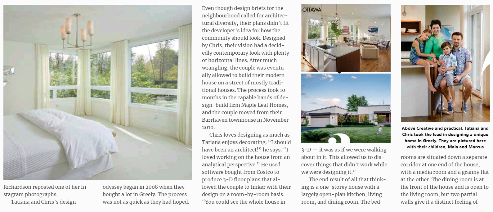 Woodstream Residents\' Home featured in Ottawa Magazine! :: Greely ...